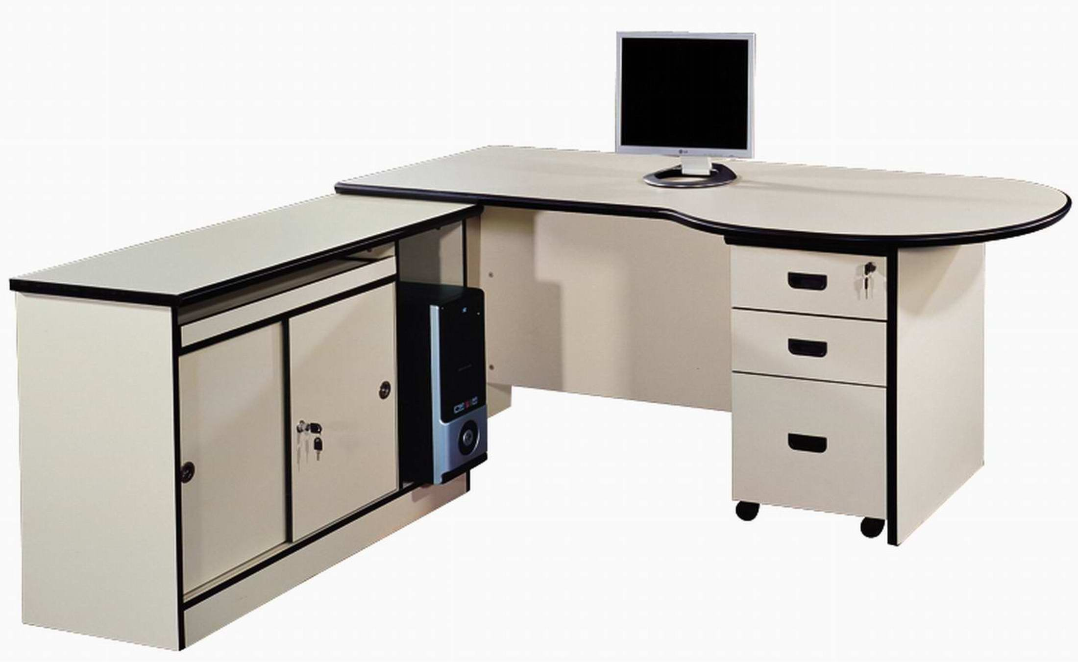 Executive office table almacs steel ltd for Table design for office