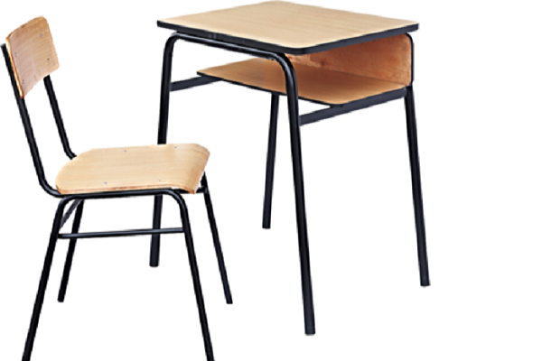 Single Student Table With Chair Set  sc 1 st  Almacs Steel & Single Student Table With Chair Set - Almacs Steel Ltd